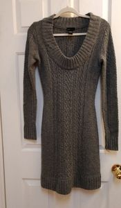 Moda International 30% wool Cable Knit Dress